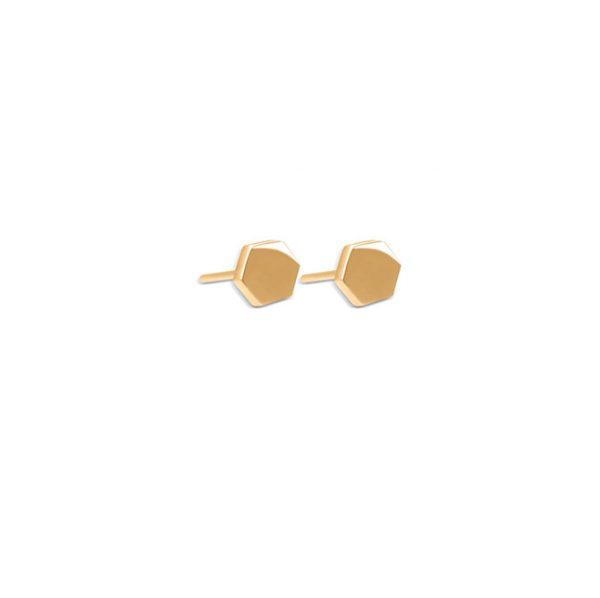 گوشواره طلا چند ضلعی