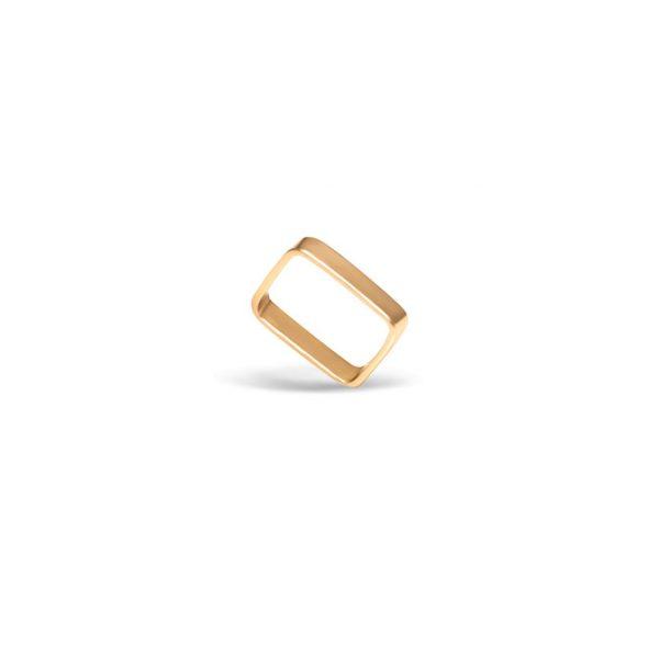 انگشتر طلا مربع شکل