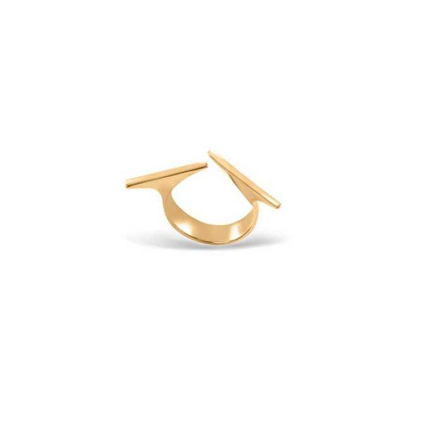انگشتر طلا پاتیناژ