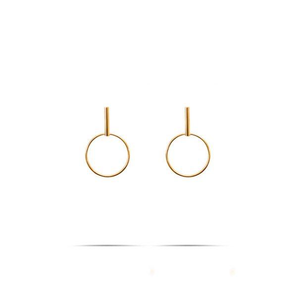گوشواره طلا جاسویچی