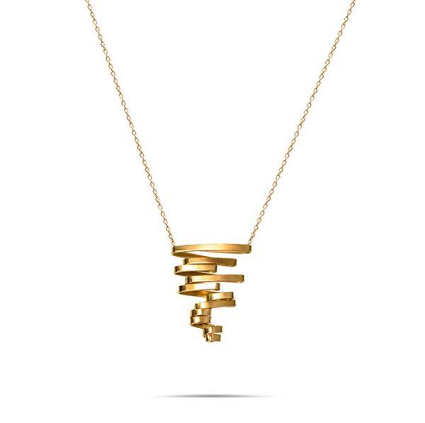 گردنبند طلا فرکانس گردباد