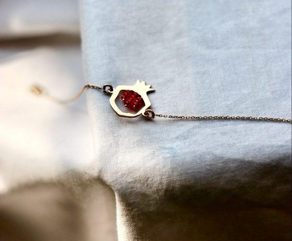 دستبند طلا طرح ناردون