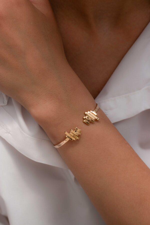 دستبند طلا دوسر فرکانس