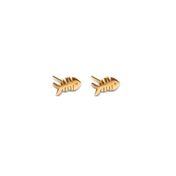 گوشواره طلا ماهی