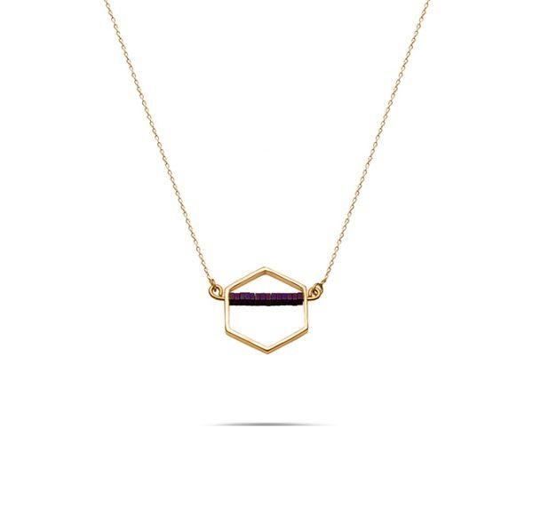 گردنبند طلا سه تار