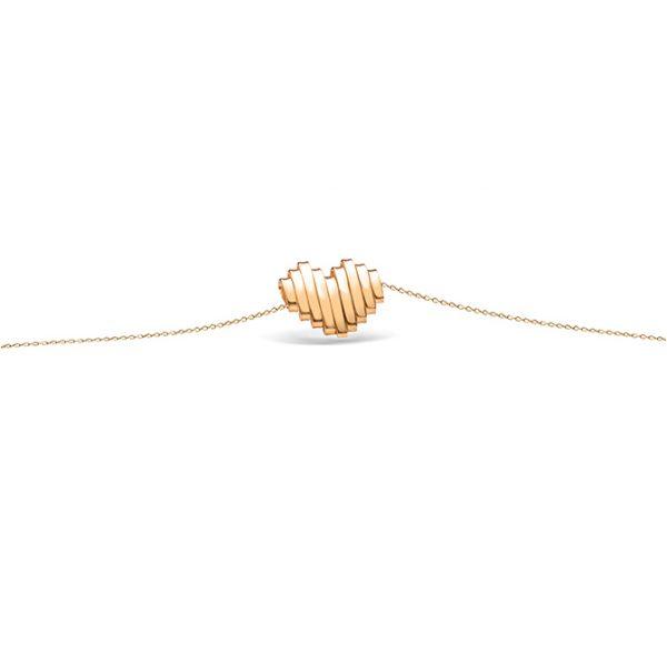 دستبند طلا قلب فرکانس