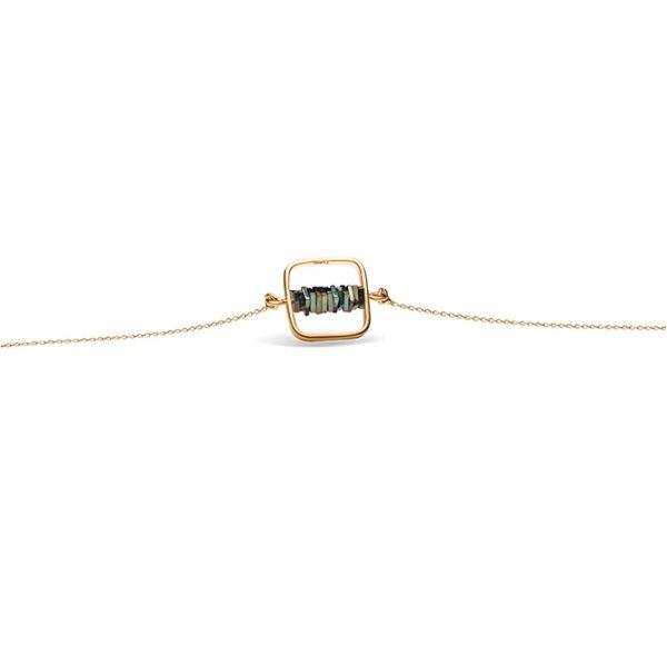 دستبند طلا سه تار