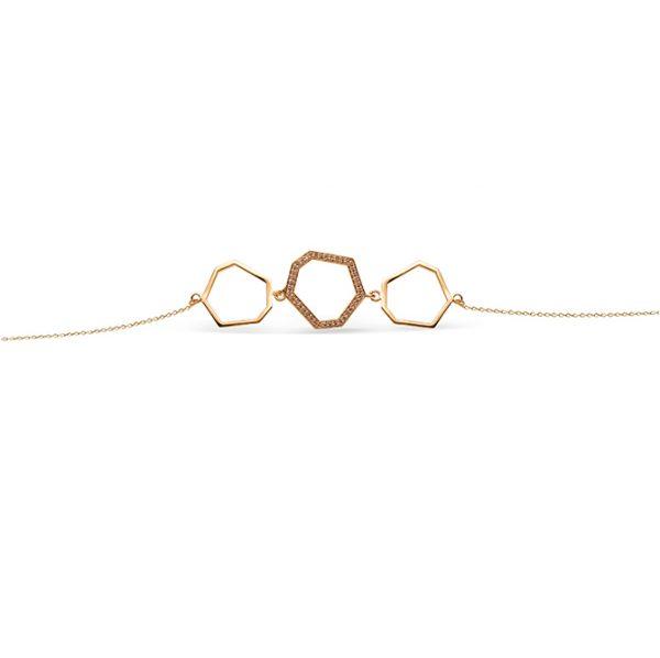 دستبند طلا لانه زنبور