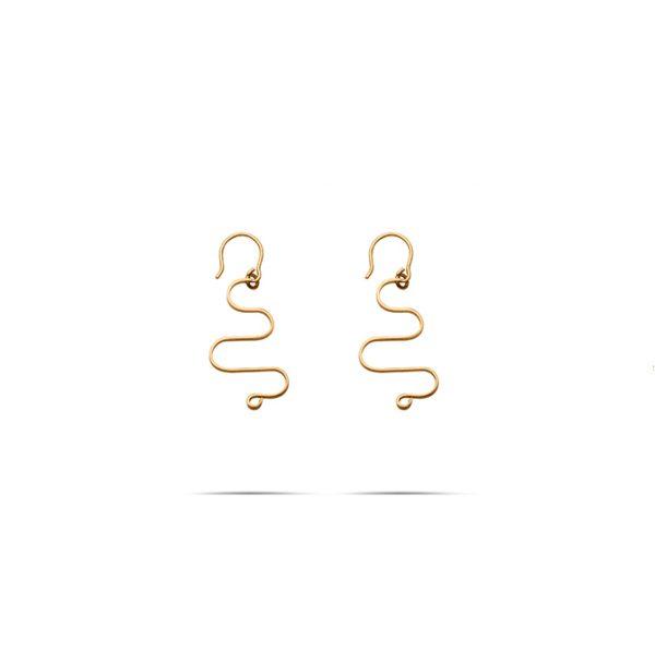 گوشواره طلا چالوس کوچک