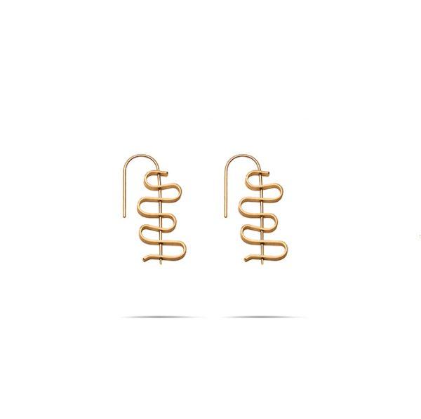 گوشواره طلا چالوس بزرگ