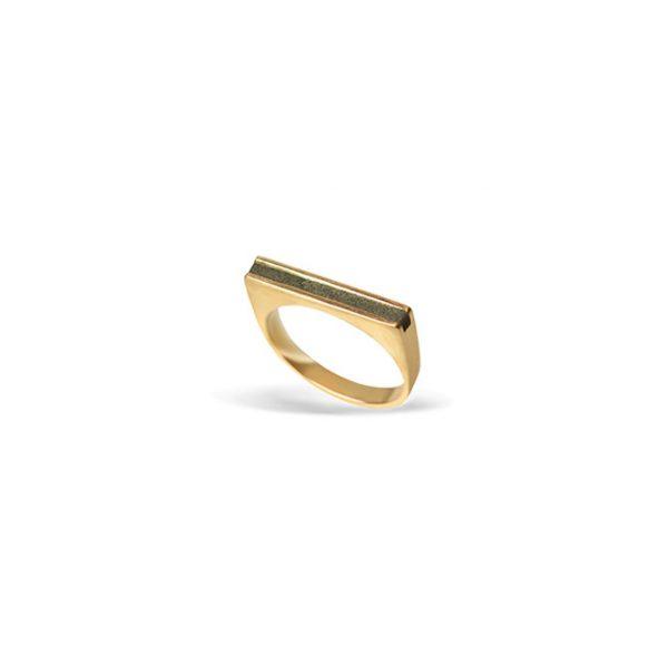 انگشتر طلا منها بتن