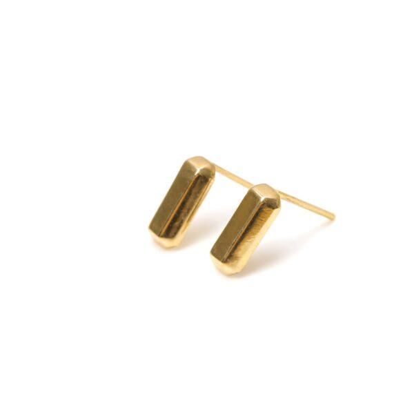 گوشواره طلا منها سه بعدی