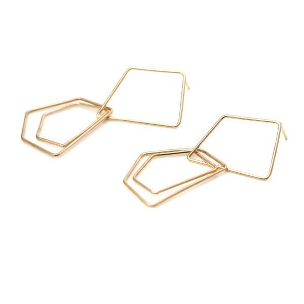 گوشواره طلا کندو کوچک