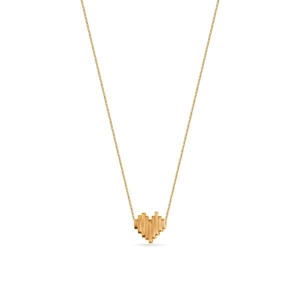 گردنبند طلا قلب فرکانس