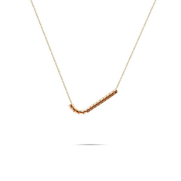 گردنبند طلا اسپیرال تیک