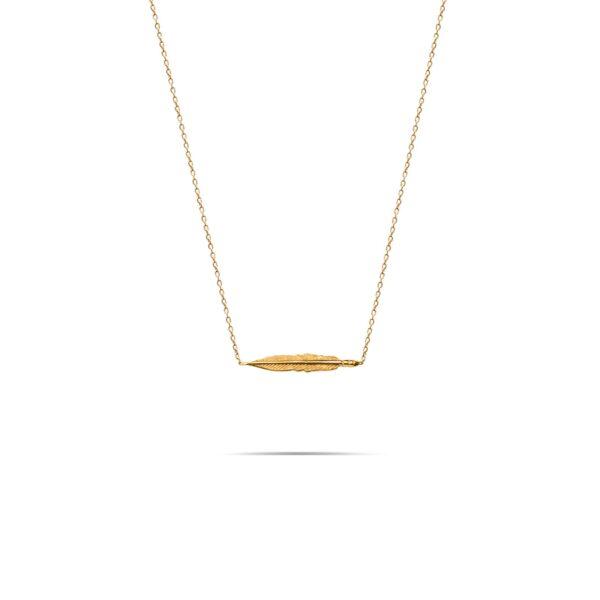 گردنبند طلا پرکج
