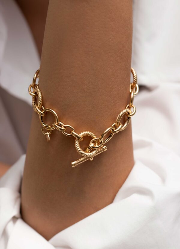 دستبند طلا یورمن