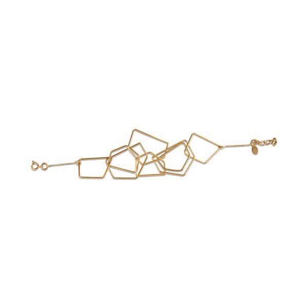 دستبند طلا کندو