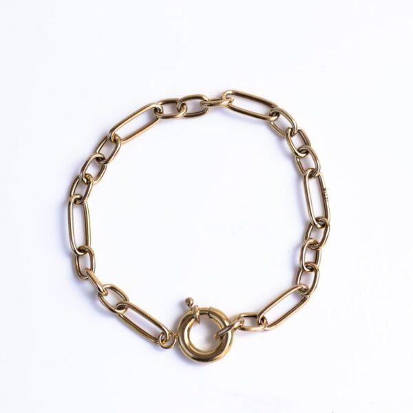 دستبند طلا هرمس