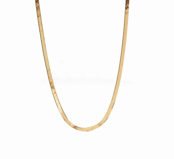 گردنبند طلا هرینگبون
