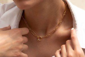 گردنبند طلا هرمس ۷
