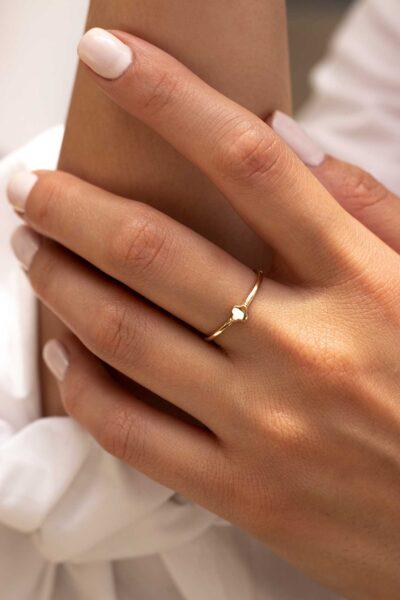 انگشتر طلا ونکلیف
